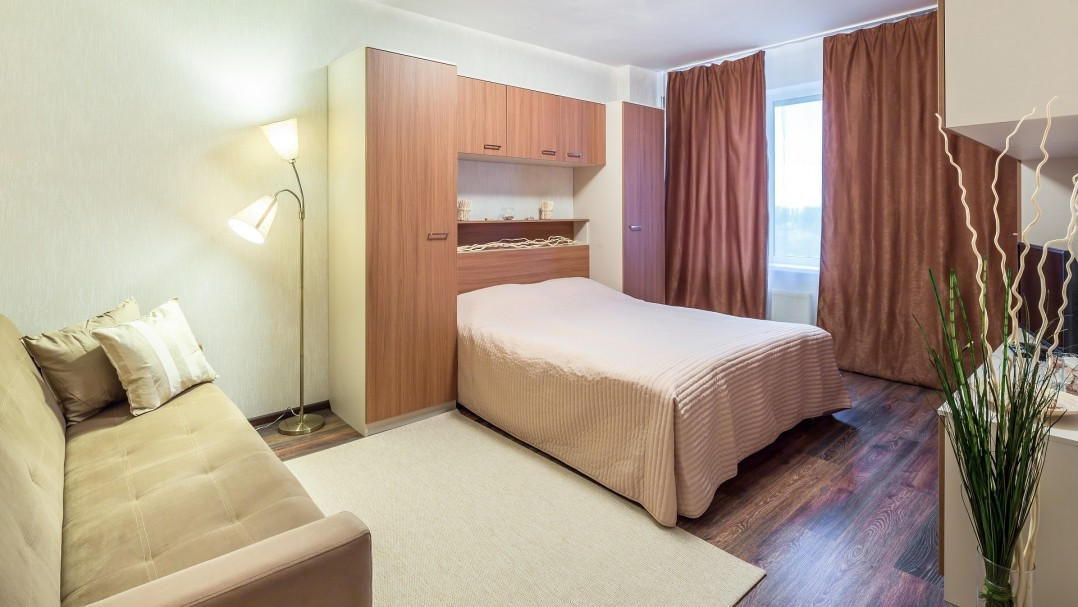 1-room Apartment on Pulkovskoe shosse 14/2